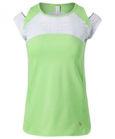 Cross Court Lime Light Cap Sleeve-Melon 8768-9232