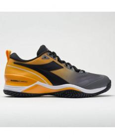 Diadora Speed Blushield 5 AG Men's Black/Orange 176940-C9213
