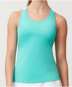 Fila Women's Windowpane Racerback Tank-Emerald TW183X92-978