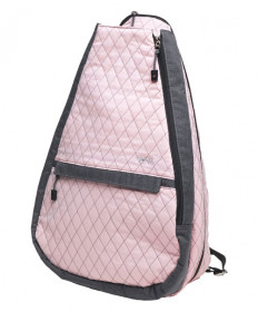 Glove It Rose Gold Quilt Tennis Backpack TR258