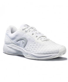 Head Women's Revolt Pro 3.0 Tennis Shoes White/Silver 274140-WHSI