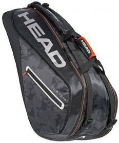 Head Tour Team 9R SuperCombi Bag Black/Silver 283118-BKSI