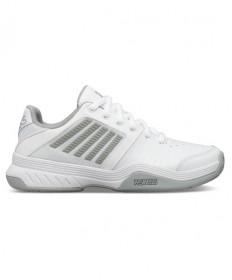 K-Swiss Court Express Women's Tennis Shoes White/Grey 95443-150