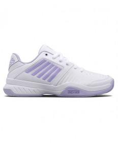 K-Swiss Court Express Women's Tennis Shoes White/Purple 95443-161