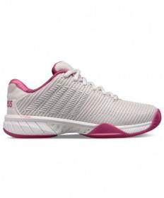K-Swiss Hypercourt Express 2 Women's Tennis Shoes Grey/Pink 96613-034