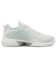 K-Swiss Hypercourt Supreme Women's Tennis Shoes Barely Blue 96615-084