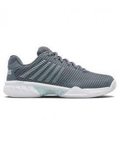 K-Swiss Hypercourt Express 2 WIDE Women's Tennis Shoes Stormy/Blue 96087-427