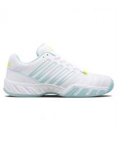 K-Swiss Bigshot Light 4 Women's Tennis Shoes Blue/White/Yellow 96989-132