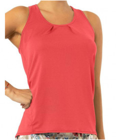 Lucky In Love Tie Back Tank- Flame CT712-807