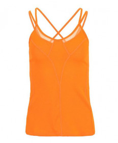 Lucky In Love Strappy Tank-Orange CT500-802