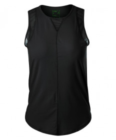 Lucky In Love UV Chill Out Tank- Black CT661-001
