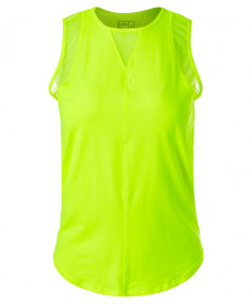 Lucky In Love UV Chill Out Tank-Neon Yellow CT661-710