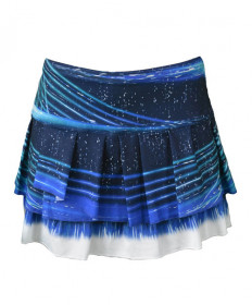 Lucky In Love Lite Speed Skirt-Parisian Blue CB180-836434