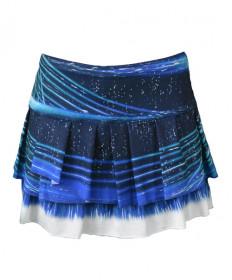 Lucky In Love Lite Speed Skirt-Parisian Blue CB180-836434