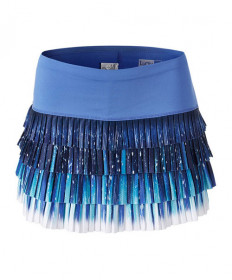 Lucky In Love Aura Pleated Skirt-Paris Blue CB339-835434