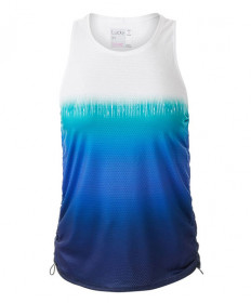 Lucky In Love Ombre Cinch Tank-Parisian Blue CT328-902434