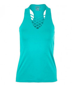 Lucky In Love Interlace Tank-Aquamarine CT585-416