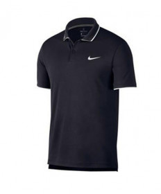 Nike Men's Court Dry Team Polo Obsidian 939137-451