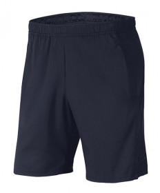 Nike Men's Court Dry 9 Inch Shorts- Obsidian 939265-452