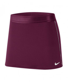 NIKE Court Dry Straight Skirt-Bordeaux 939320-610