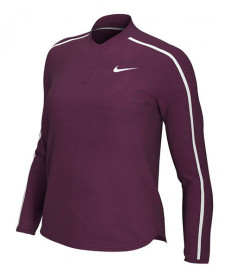 Nike Women's Court Dry Longsleeve-Bordeaux 939322-610