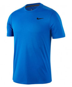 Nike Men's Court Dry Graphic Crew- Game Royal AT4305-480