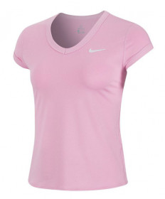 Nike Women's Court Dry Top-Pink Rise CQ5364-629