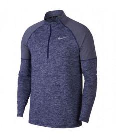 Nike Men's Element 1/2 Zip Top-Obsidian/Blue Void/Heather AH8973-478