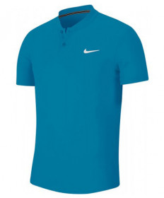 Nike Men's Court Dry Blade Polo- Neo Turquoise AQ7732-425