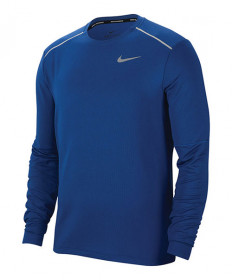 Nike Men's Element 3.0 Longsleeve Top-Obsidian-Indigo Force BV4717-452
