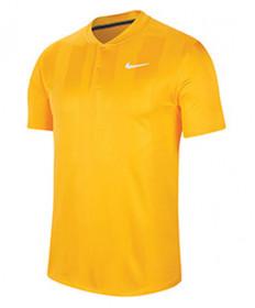 Nike Men's Court Dry Print Blade Polo-Sundial  CK9791-717