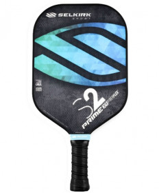 Selkirk Prime S2 X4 FiberFlex Pickleball Paddle Ocean Blue 1308