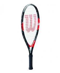 Wilson Federer Junior 21 Tennis Racquet Black/Red WRT20350U