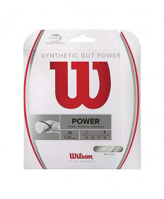 Wilson Synthetic Gut Power 16-White WRZ945100
