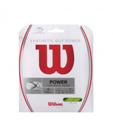 Wilson Synthetic Gut Power 16-Lime WRZ945700