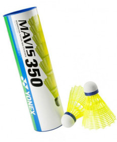 Yonex Mavis 350 Shuttlecock Yellow Medium Speed M350Y
