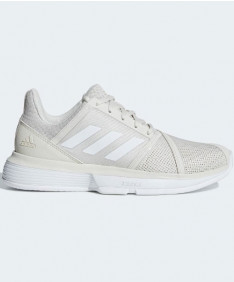 Adidas Women's CourtJam Bounce Shoes White CG6356