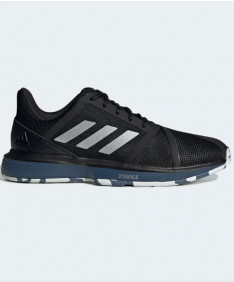 Adidas Men's CourtJam Bounce Shoes Black / Blue G26829