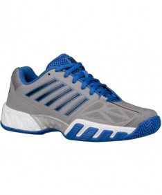 K-Swiss Junior Bigshot Light Shoes Titanium / Black / Strong Blue 85366-036