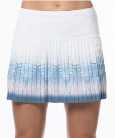Lucky in Love Celestial Geo LONG Astral 14 Inch Skirt Blue Bell CB365-811455