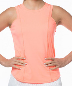 Lucky in Love Celestial Geo Starter Ribbed Tank Peach Glow CT608-805