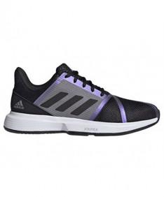 Adidas Men's CourtJam Bounce Shoes Black/Grey FX1493