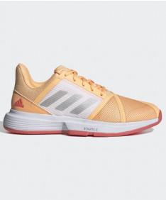 Adidas Courtjam Bounce Women's Orange/Pink FX1523