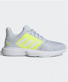Adidas Courtjam Bounce Women's Blue/Yellow FX1524