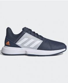 Adidas Men's CourtJam Bounce Shoes Blue/Grey FX4103