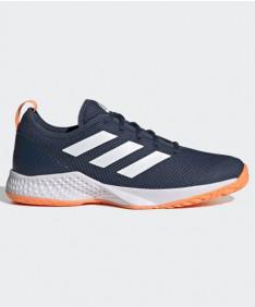 Adidas Men's Court Control Tennis Shoes Blue/Orange FZ3648