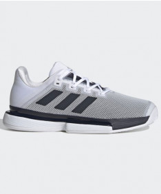 Adidas Men's Solematch Bounce Legend Ink/White FU8118