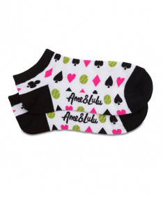 Ame & LuLu Meet Your Match Socks-Queen of the Court- SOCKS144