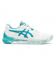 Asics Gel Resolution 8 Women's White/Lagoon 1042A072-106