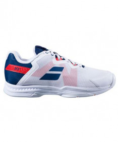 Babolat Men's SFX 3 AC Shoes White/Blue/Red 30S20529-1005